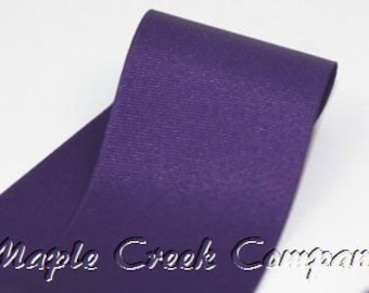 "5 yards Plum Grosgrain Ribbon, 4 Widths Available: 1 1/2"", 7/8"", 5/8"", 3/8"""