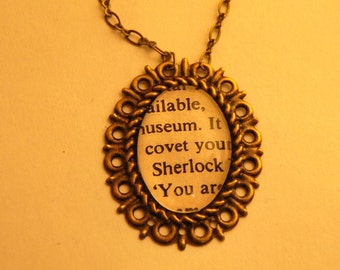 The Hound of the Baskervilles Sherlock Pendant