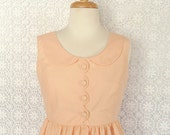 Rose Petal Dress - Peach