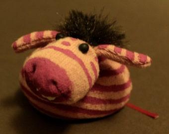 Zebu, the pink Zebra