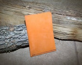 Field Notes - Moleskine Pocket Size - Leather Everyday Carry Pocket - Orange