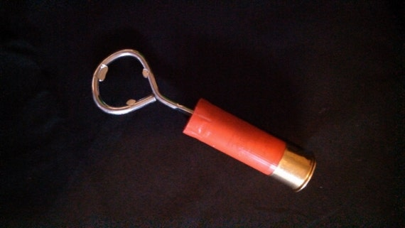 items similar to shotgun shell bottle opener handmade from spent 12 gauge shotgun shell wood. Black Bedroom Furniture Sets. Home Design Ideas