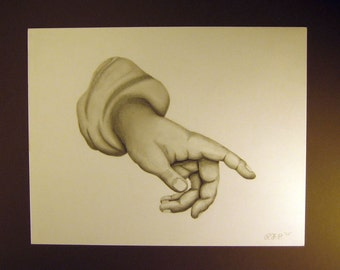 The Hand - Pencil Drawing