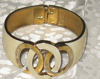 Cuff Clamper Bracelet by Trifari