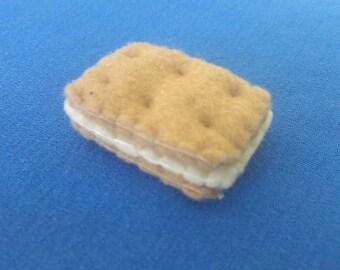 Plush Handsewn Biscuit