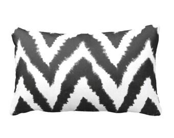7 Sizes Available: Lumber Pillow Cover Decorative Throw Pillow Decorative Pillow Black Pillow Chevron Pillow Ikat Pillow Black Home Decor