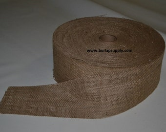 4 inch wide 10 oz Burlap Roll 100 yards -