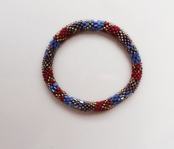 nepal beaded roll on bracelet s day birthday by