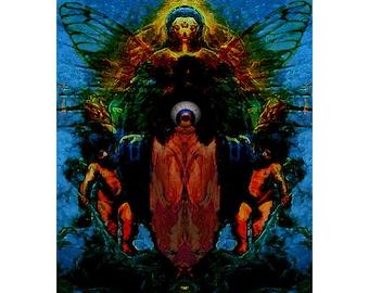 Virgin Deity- Digital Art