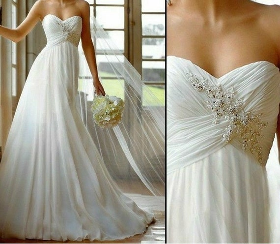 wedding ddress bridal dress strapless wedding dress fformal dress