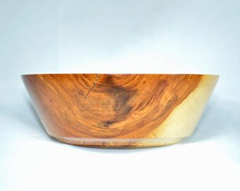 Apple Bowl - Wooden - Hand made
