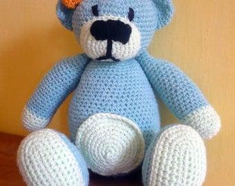 Crochet Teddy Bear Mentol