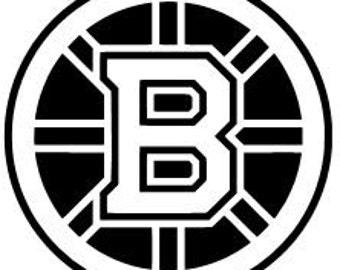 Boston Bruins Vinyl Decal Sticker Hockey Nhl Car Window