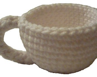 Pattern Download: Crochet Teacup