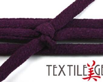 "JAPANESE CHIRIMEN CORD: 7mm x 32"" Japanese Chirimen Cord for Necklaces, Wrap Bracelets & Embellishments"