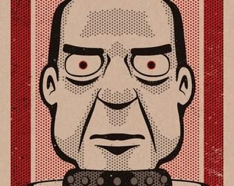 Futurama Nixon Print 11x17