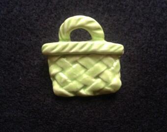 NZ Kete bag brooch. Unique NZ design made to order.