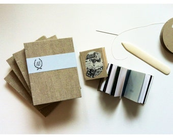linen handbound journal