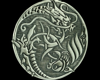 Three Dragons- a Pendant with Celtic influences