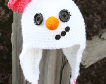 SnowWoman Hat
