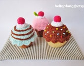Cupcakes Crush - PDF Crochet Pattern