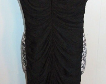 Simple and Sexy Lilli Diamond Ruched LBD - XS/S
