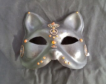 Color Choice Steampunk Egyptian Cat Mask