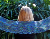 Daintree Shawl Scarf KNITTING PATTERN PDF by Christine Jones
