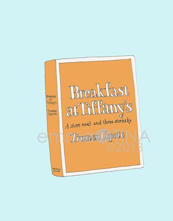 Breakfast at Tiffany's Decorative Illustration Art Print