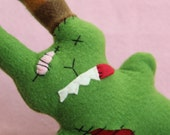 Green Zombie Bunny