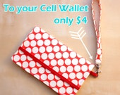 Add a Wriststrap To Your Cell Phone Wallet Order