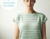 PDF download: Vasa Tee (knitting pattern)