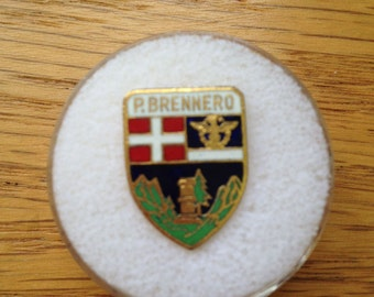 Vintage Italian Alps P. Brennero Hat or Lapel Pin