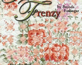 Fracture Frenzy -- Strip Piecing Quilt Pattern Book