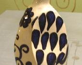 ceramic bird sculpture penguin black and white bird figurine bird collectibles