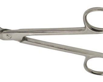 4.5 Inch Wire Cutting Scissors (Crown Angle Scissors)