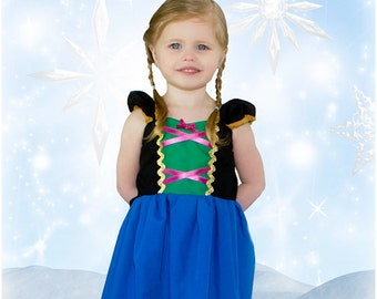 ANNA dress  princess dress for birthday party dress  or portrait