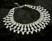 Pearl Choker Necklace 'Cleopatra' - In stock
