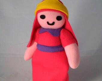 Cuddly Plush Pink Princess