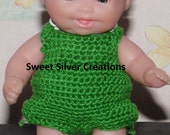 Crochet Pattern - 5.5 inch Berenguer/Lots to love/Itsy Bitsy Baby Frog