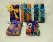 Bright Tissue Cozy Set of 5 Colorful Travel Size Gifts or Favors