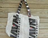 Nylon Ripstop Parachute Market Bag Navigator 300 Parachute Logo