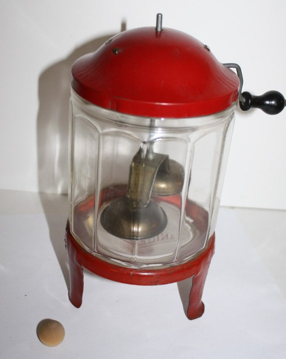 vintage 1920s toy wolverine childs washing machine red glass. Black Bedroom Furniture Sets. Home Design Ideas