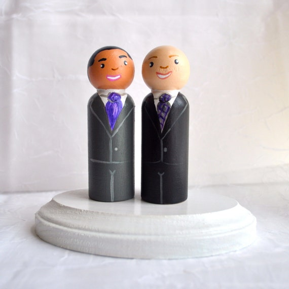 same sex wedding toppers cake in Telford