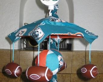 GO TEAM Custom Football Sports Crib Mobile