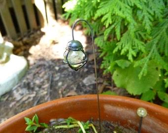 Glass Fairy Garden Lantern, Small Fairy Garden Lanturn, Glow In The Dark, Fairy  Garden Lights, Fairy Garden Accessory, Fairy Garden Supply