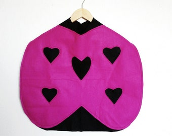 Lovebug Cape, Halloween Costume or Dress Up Cape for all ages