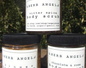 All Natural Herbal Salt Scrub