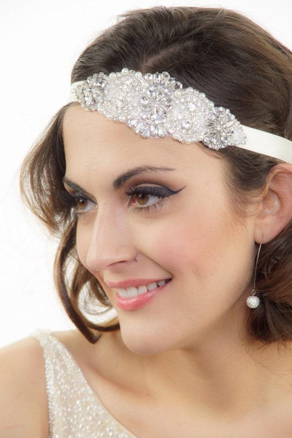 Bridal headband, Wedding Headband, Rhinestone Headband, Crystal headband, Bridal headpiece, Bridal Hair Piece