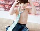 Brown Crochet Newsboy Cap, Toddler Newsboy Hat, Baby Boy Beanie With Brim, MADE TO ORDER, Children Clothing
